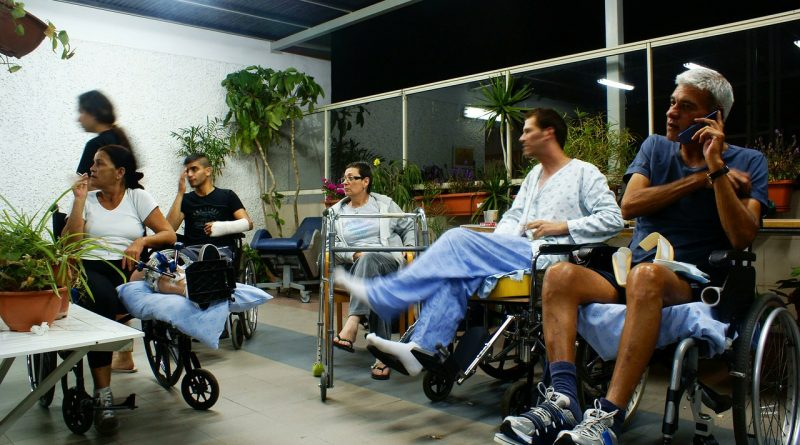 disabled, wheel chair, hospital